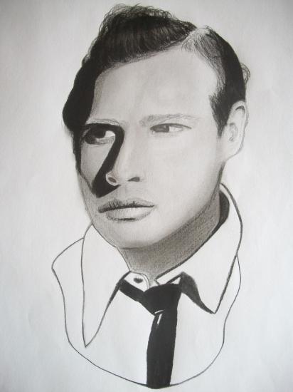 Marlon Brando by Selene